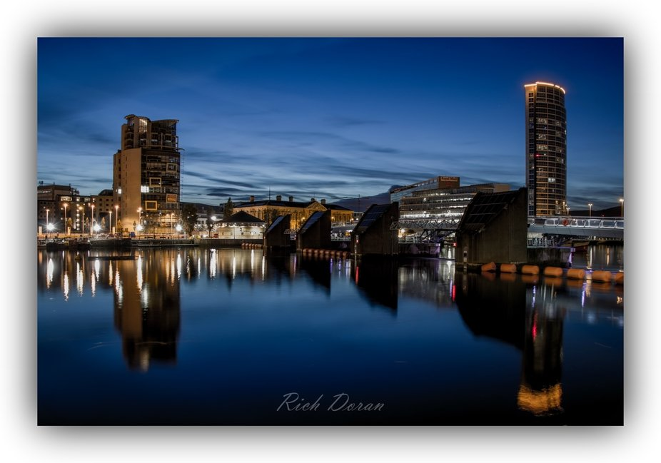Lagan Weir at Night
