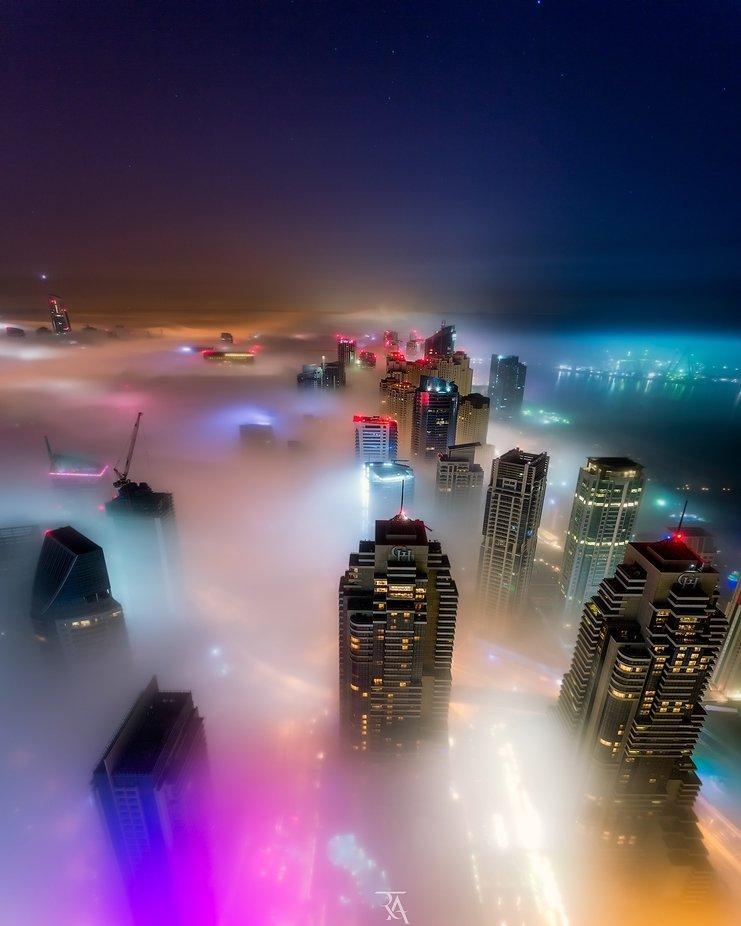 The Magical Dubai by RustamAzmi - Bright City Lights Photo Contest