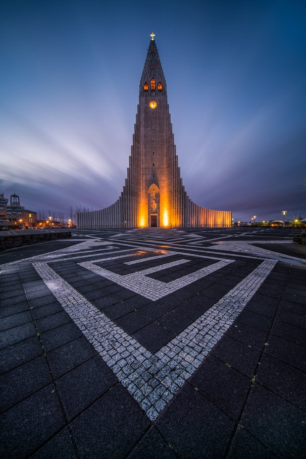 The Church by albertdros - Bright City Lights Photo Contest