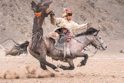 Faces of the Steppe - Eagle hunting