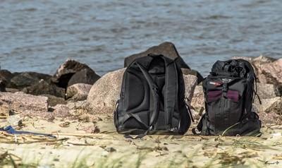 Backpacks traveled