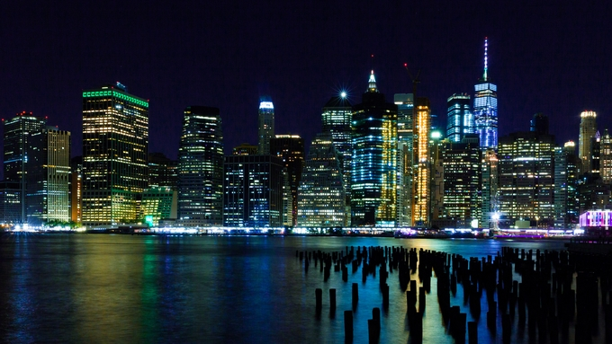 NYC  by rmicrampagne - Bright City Lights Photo Contest