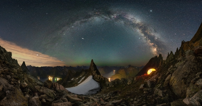 Latidude 62.4 by GiulioCobianchiPhoto - Capture The Milky Way Photo Contest