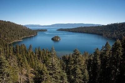 Emerald bay in  South Lake Tahoe