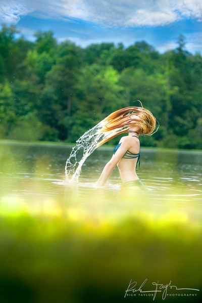 """""""The girl and the Water"""""""