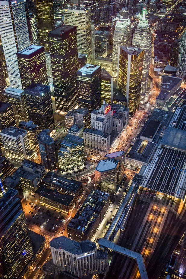 Toronto City Lights by westboundsign - Bright City Lights Photo Contest
