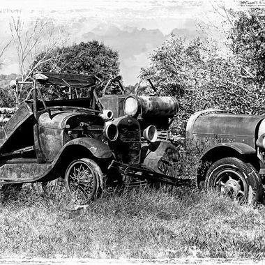 Classic Cars in Black & White