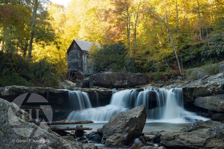 This photo was taken along Glade Creek, Babcock State Park,  West Virginia.
