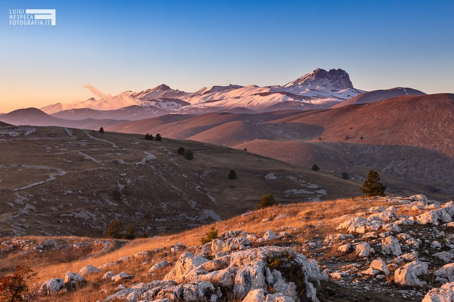 First Snow at Gran Sasso National Park