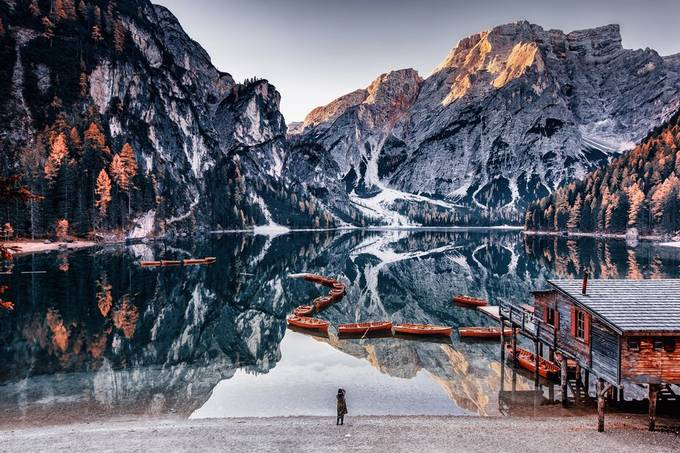 Braies, Italy – Lago di Braies by sventaubert - Isolated Cabins Photo Contest