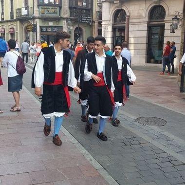 Tradition Asturian dress