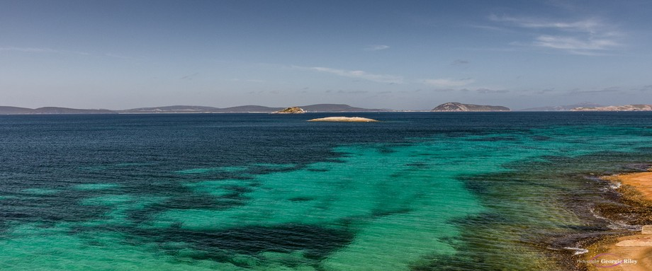 Looking out over Frenchman Bay - King George Sound - Albany Western Australia