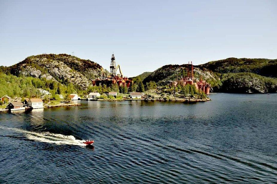 Viele Inseln sind Norwegens