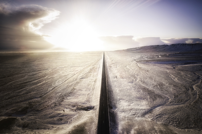 Road to Heaven by GaryCummins - Winter Roads Photo Contest