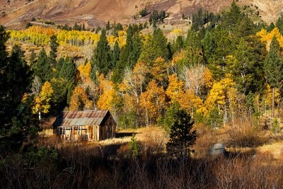 autumn colors in Hope Valley