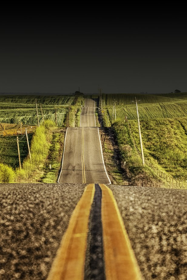 The Road by DonHoekPhoto - Straight Roads Photo Contest