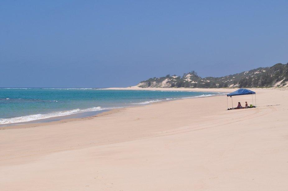 Bazaruto Island beach