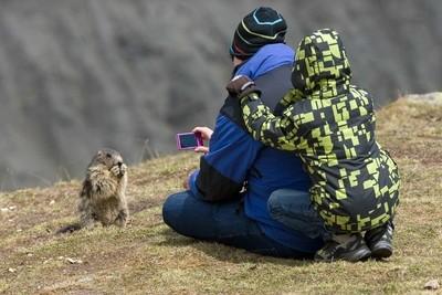 the Photo shooting