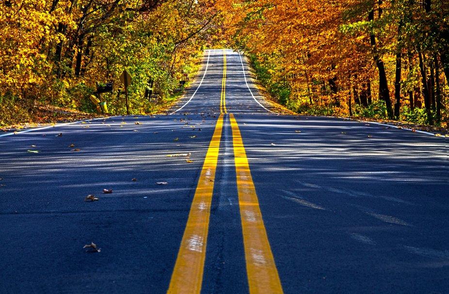 Autumn in Wisconsin.