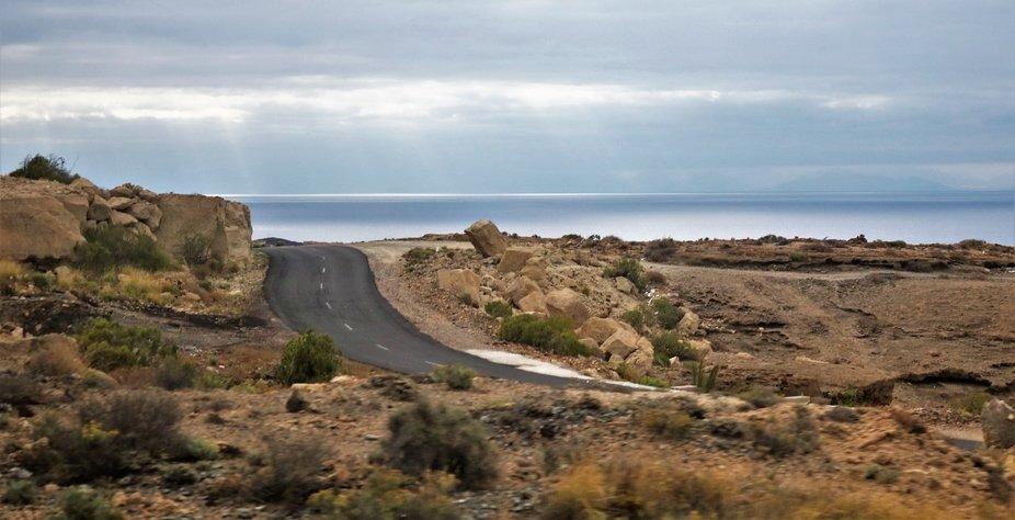 road to sea tenereife