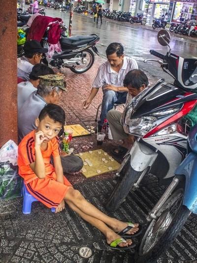 Monsoon Season In Saigon