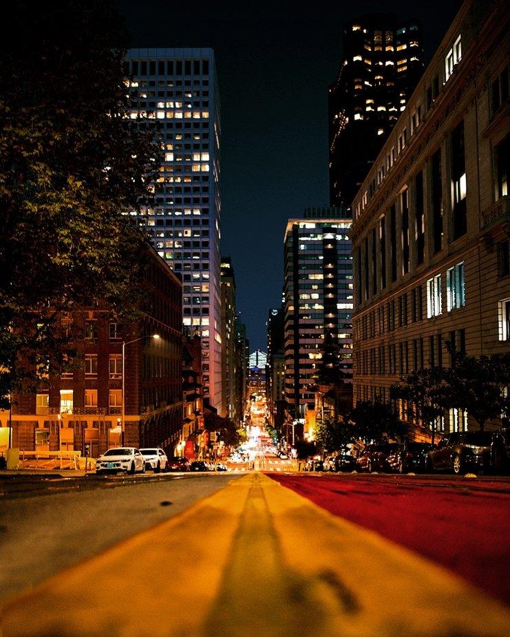 San Francisco  by aychmb - Bright City Lights Photo Contest