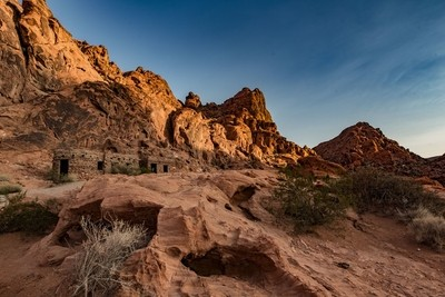 The cabins, Valley of fire state park NV