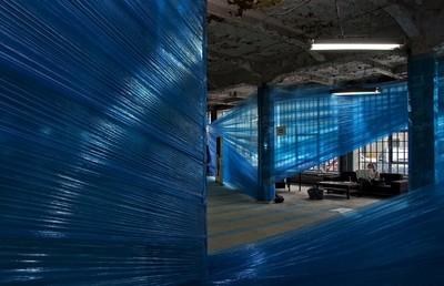 Inside blue