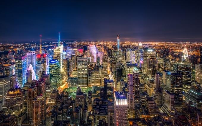 NYC Love by YaYa-Yuriii3 - Bright City Lights Photo Contest