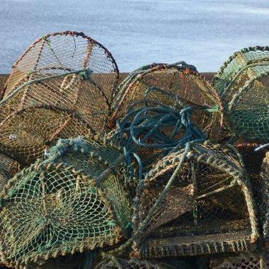 Lobster Pots at Ahakista, Dunmanus Bay