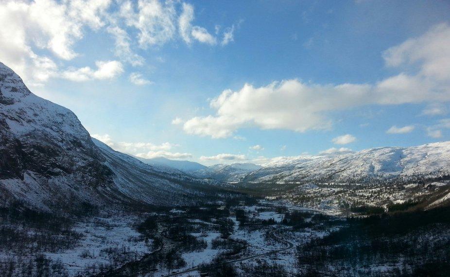 Taken on a train going to Myrdal, Norway