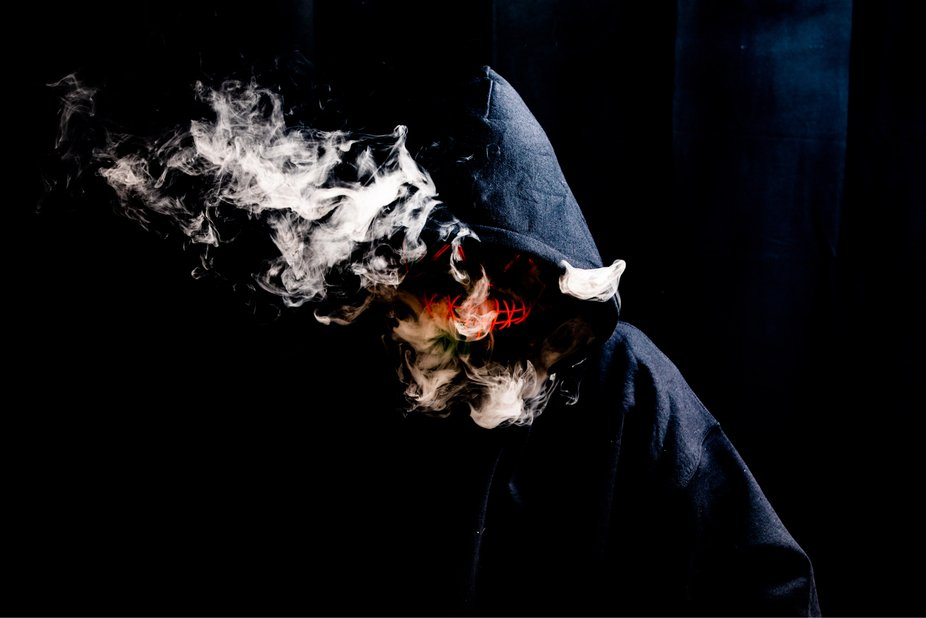 Halloween purge style shoot