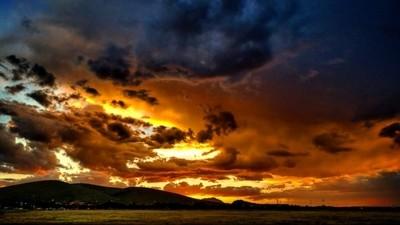 Sunset over Prescott Valley