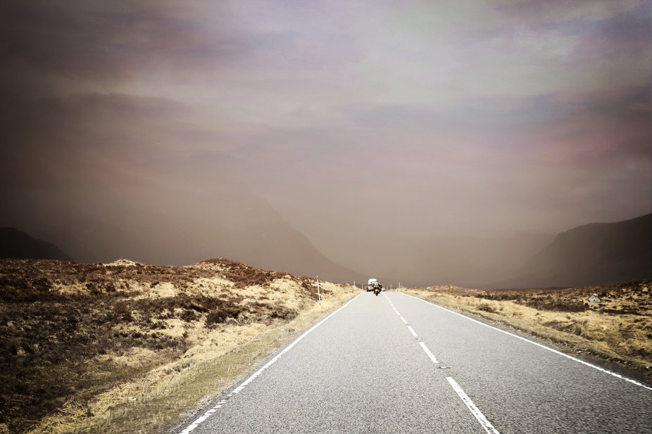 on the road back to nowhere