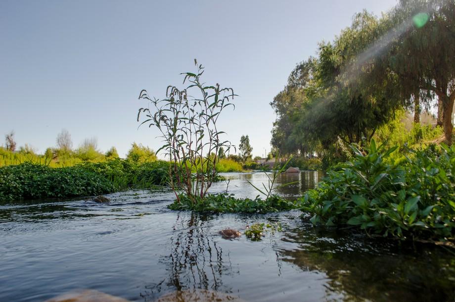 Rio Limari, Los peñones Ovalle