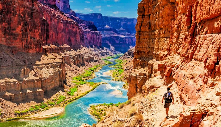 The Arizona National Scenic Trail stretches 800 miles across the entire length of the state to co...