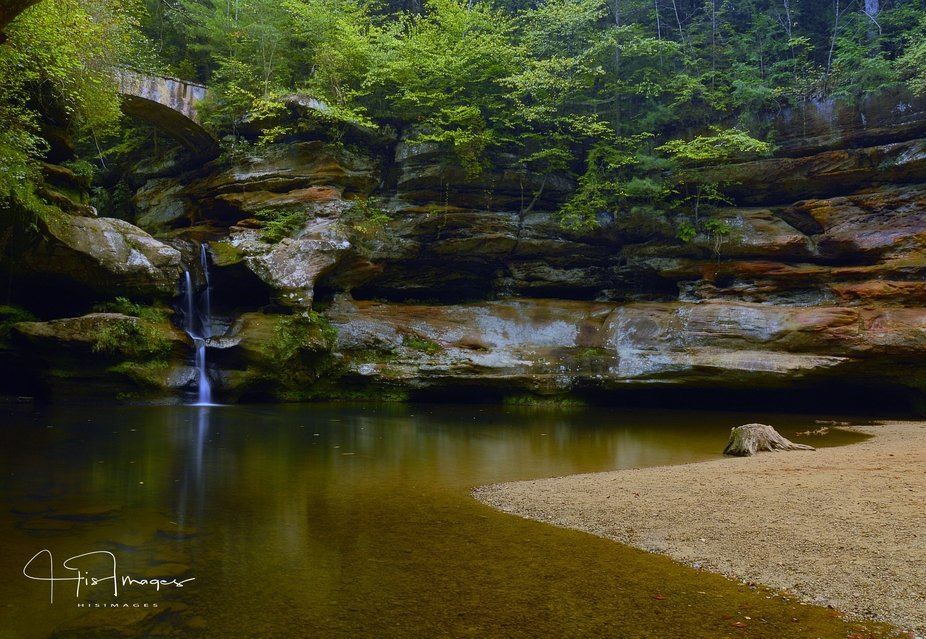 Hocking Hills, Ohio.  Old Man's Grotto trail.  August 2018