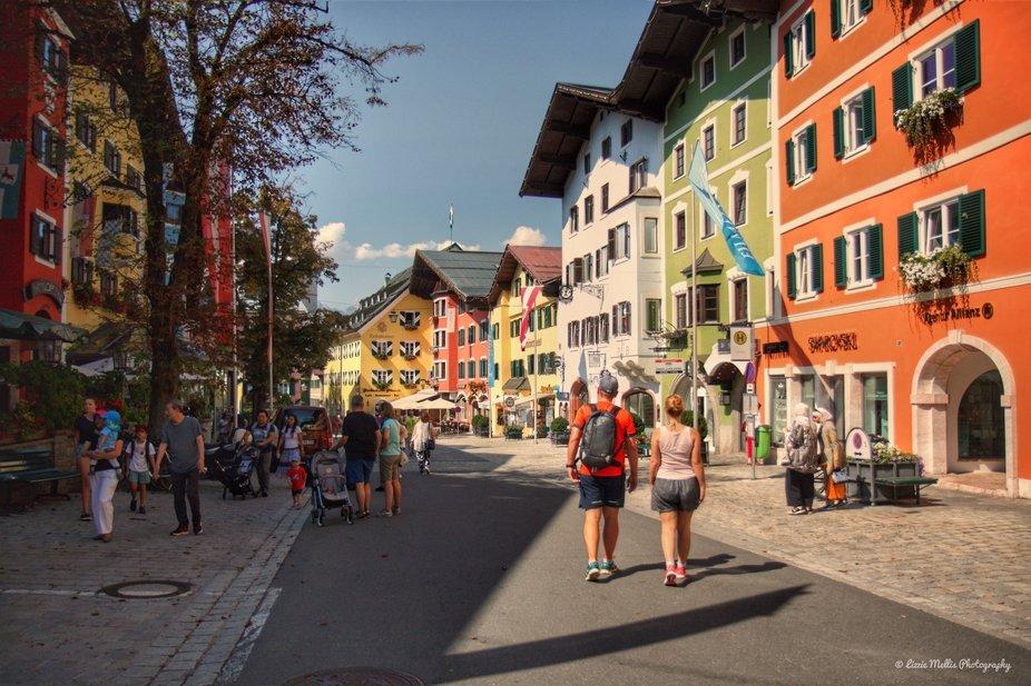Austria, Kitzbuhel, Tyrol, Austrian Ski resort.