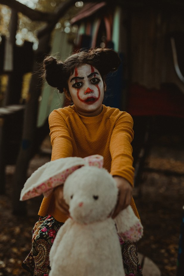 Teddy by LiliNis - Halloween Photo Contest 2018