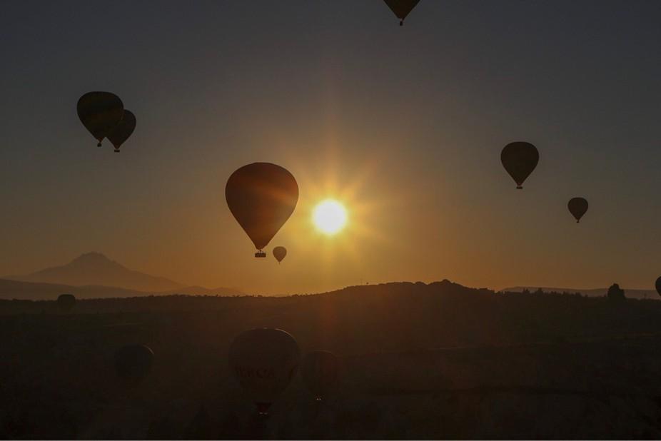 Sunrise at Capadocia