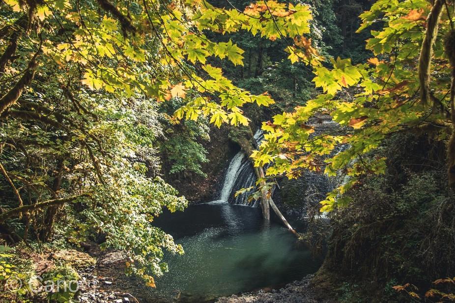 Secret water fall