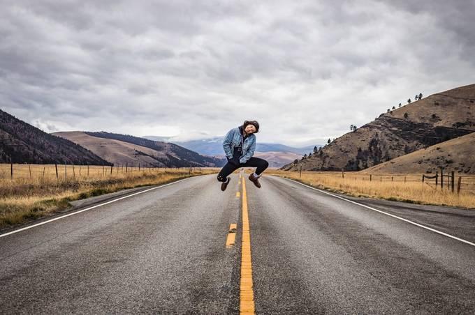 No one was injured making this photo  by izzybouchard - Levitation Art Photo Contest