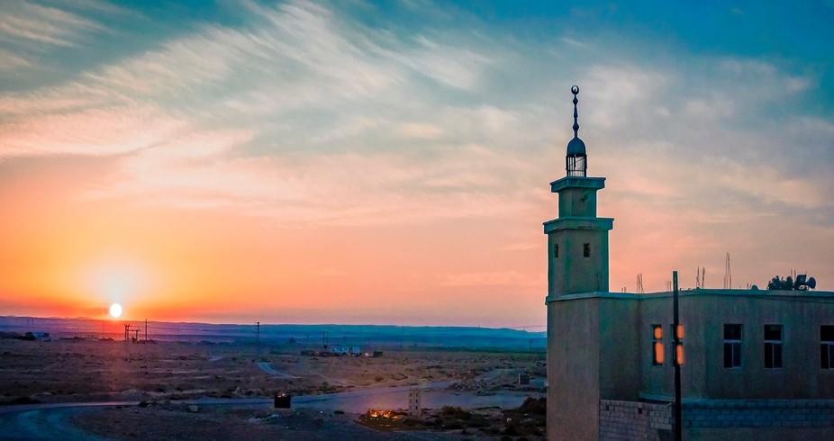 Jordan, Kings highway sunset.