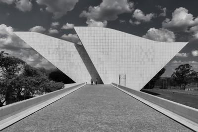 Panteão da Pátria Tancredo Neves, Brasilia, Brasil.