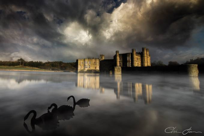 Moody Leeds Castle by Chris_James - Monthly Pro Photo Contest Vol 45