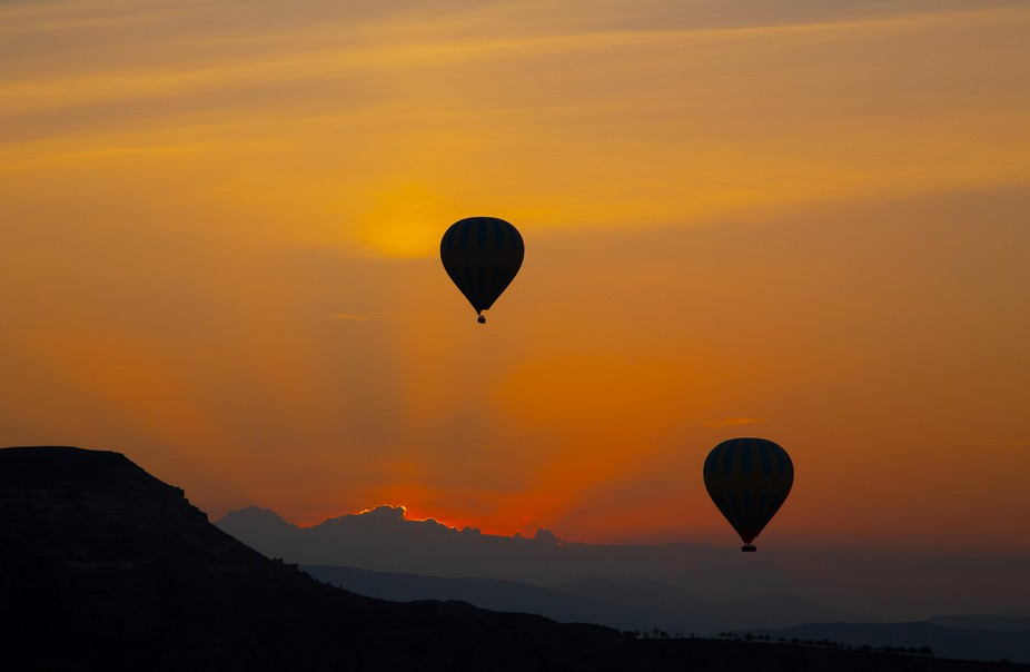 Ballooning is very popular in the Capadoccia region of Turkey and with a reason. The views form a...