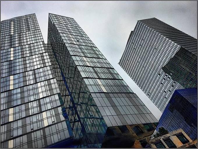 #newbuildings #recentconstruction #unusualstructures #cloudyday #monochromeish #standingtall #tlwheatman