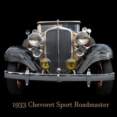 This is a 1933 Chevrolet Roadmaster