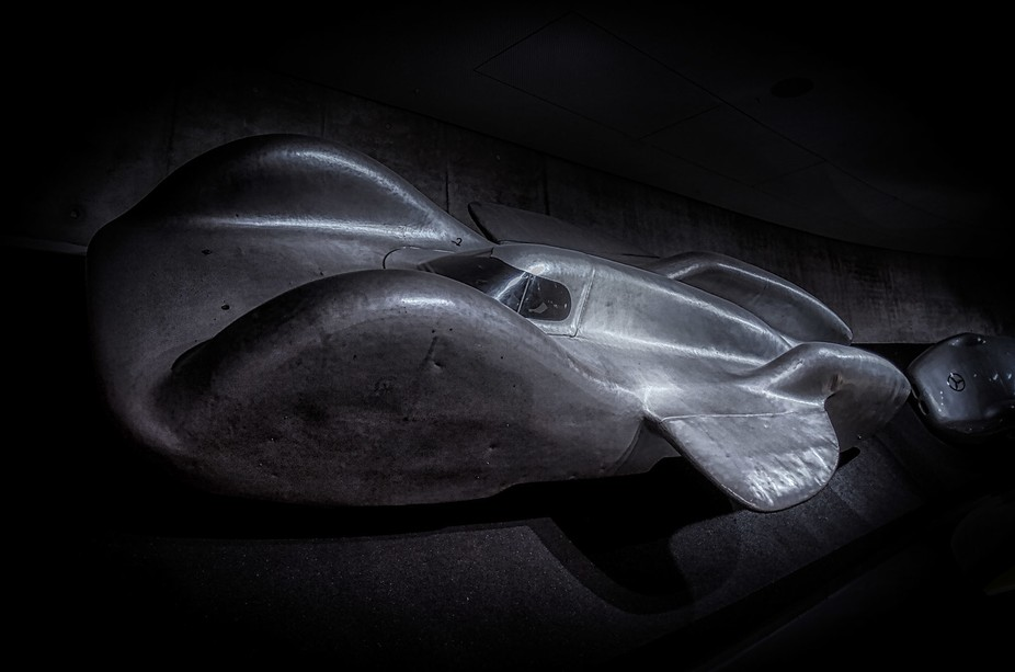 The T80 was built in 1939 to break the world land speed record, but never made the attempt, due t...