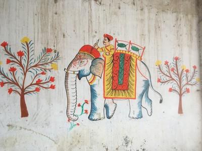 Rajasthani wallpainting